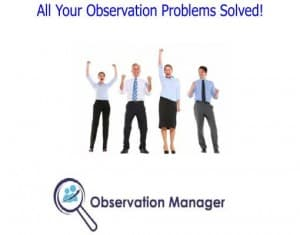Lesson Observation process