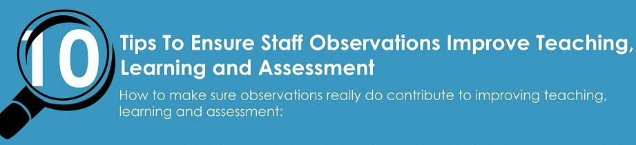 Improving Lesson Observations